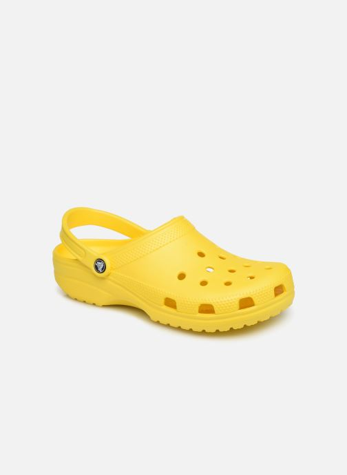 Sandalias Crocs Classic H Amarillo vista de detalle / par