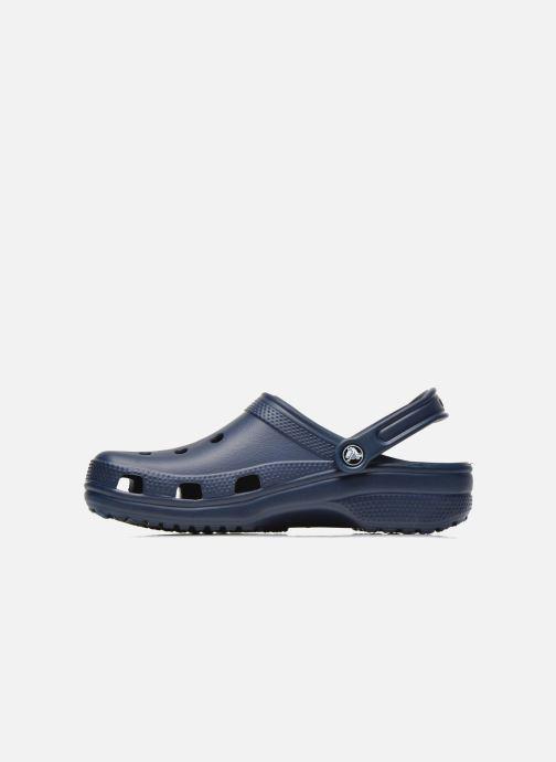 Sandalias Crocs Classic H Azul vista de frente