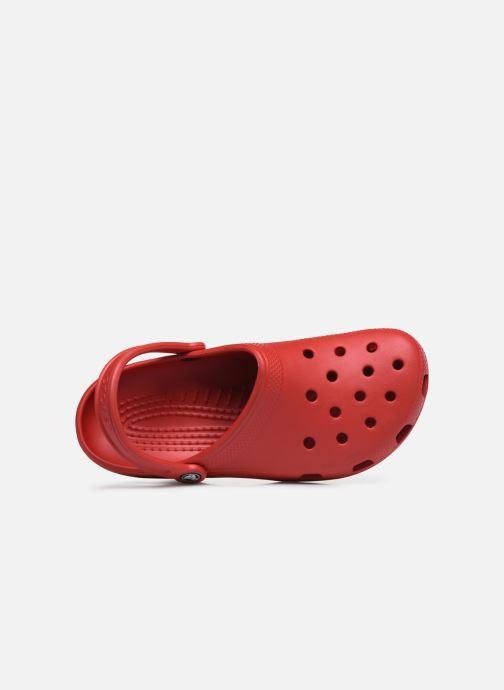Sandalias Crocs Classic H Rojo vista lateral izquierda