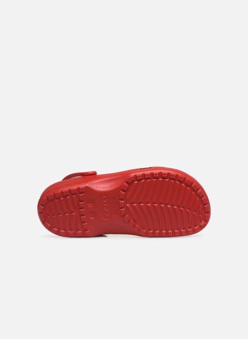 Sandales et nu-pieds Crocs Classic H Rouge vue haut