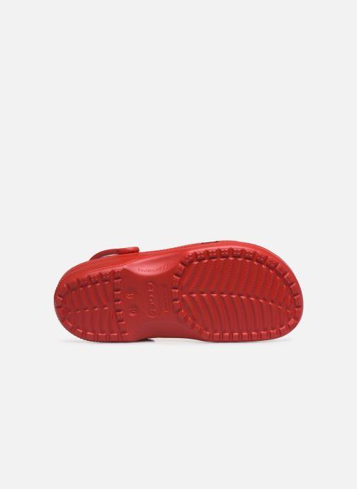 Sandalias Crocs Classic H Rojo vista de arriba