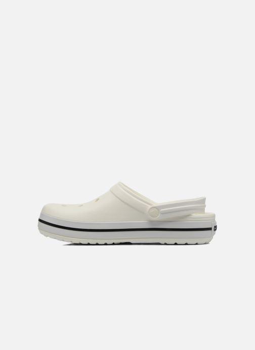 Chaussure Femme Grande Remise Crocs Crocband W Blanc Mules et sabots 259317