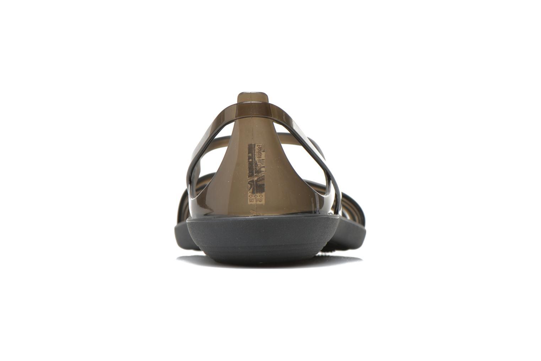 Sandales et nu-pieds Crocs Crocs Isabella Sandal W Noir vue droite