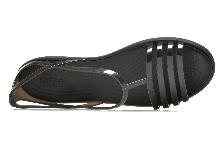 Sandales et nu-pieds Crocs Crocs Isabella Sandal W Noir vue gauche
