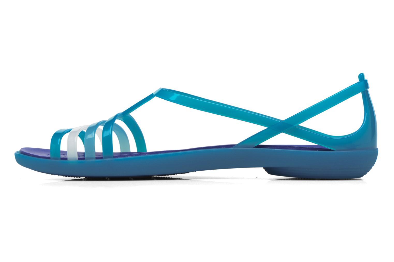 Sandales et nu-pieds Crocs Crocs Isabella Sandal W Bleu vue face