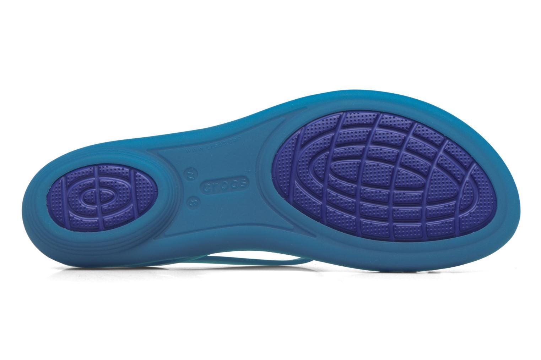 Sandales et nu-pieds Crocs Crocs Isabella Sandal W Bleu vue haut