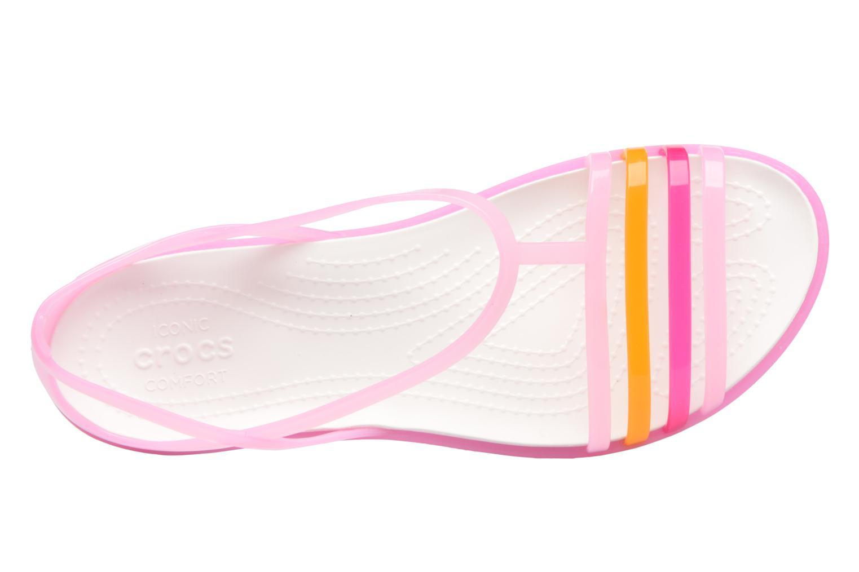 Sandales et nu-pieds Crocs Crocs Isabella Sandal W Rose vue gauche