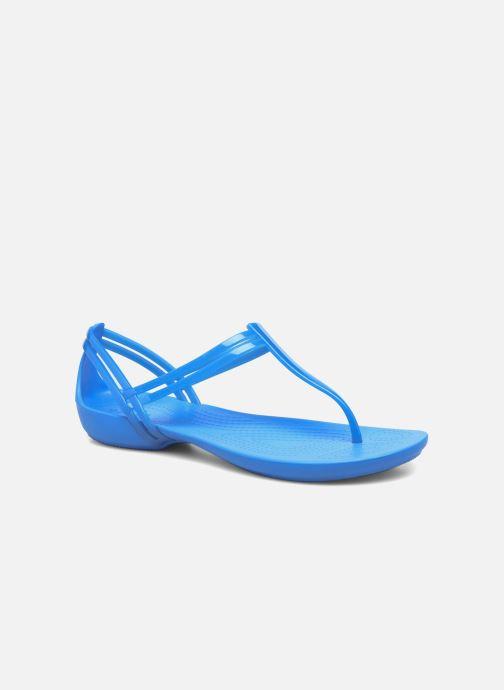 Sandales et nu-pieds Crocs Crocs Isabella T-strap Bleu vue détail/paire