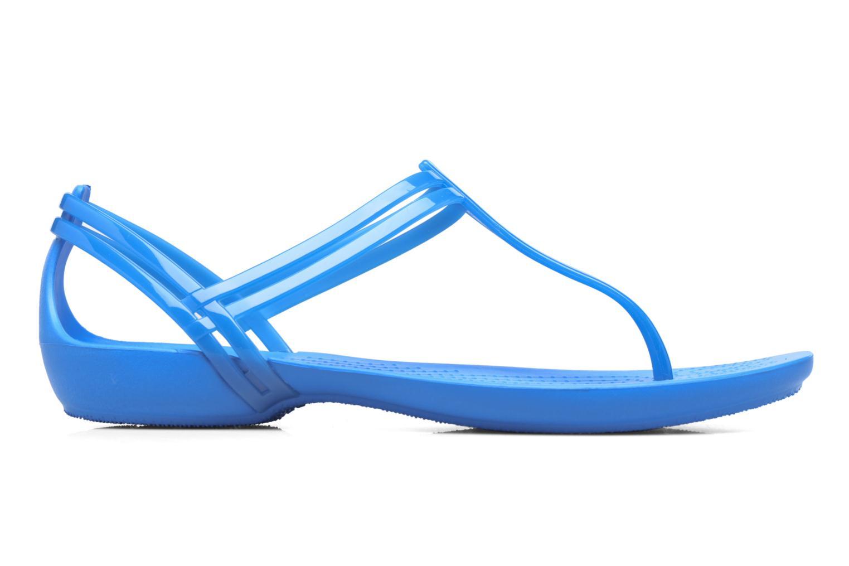 Sandales et nu-pieds Crocs Crocs Isabella T-strap Bleu vue derrière