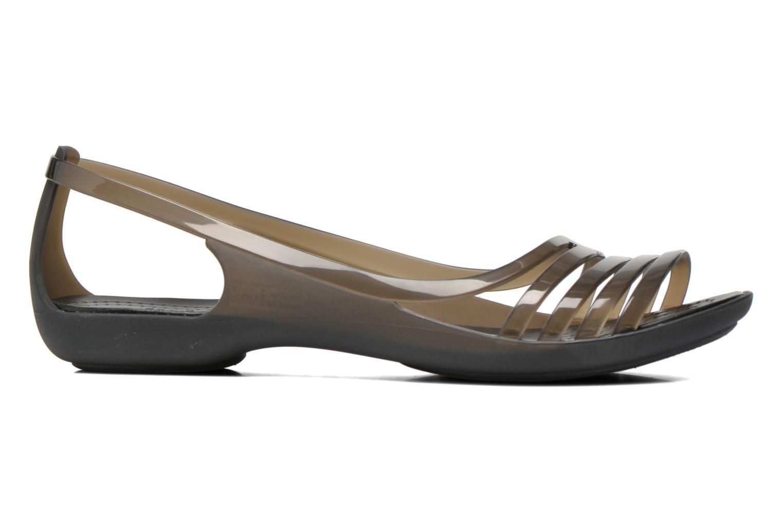 Sandales et nu-pieds Crocs Crocs Isabella Huarache Flat W Noir vue derrière