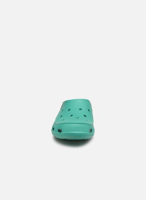 Mules et sabots Crocs Crocs Freesail Clog W Vert vue portées chaussures