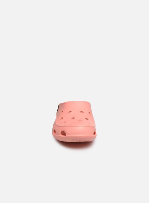 Mules et sabots Crocs Crocs Freesail Clog W Orange vue portées chaussures