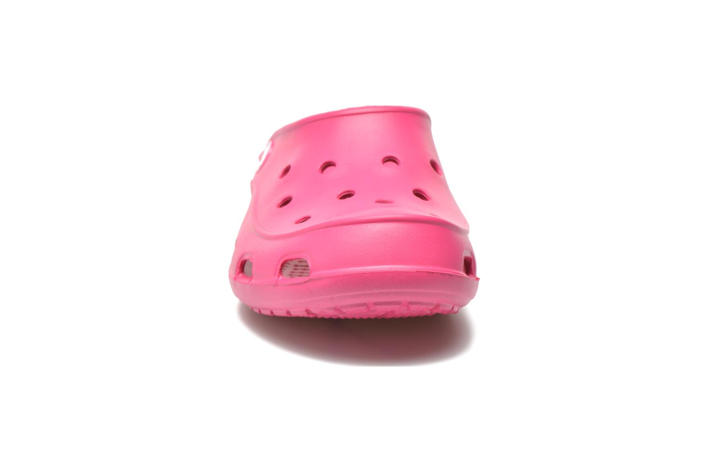 Zuecos Crocs Crocs Freesail Clog W Rosa vista del modelo