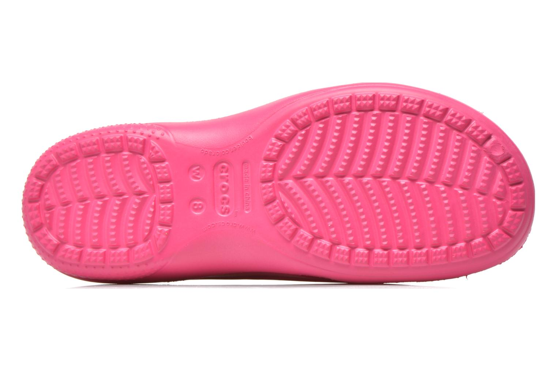 Zuecos Crocs Crocs Freesail Clog W Rosa vista de arriba