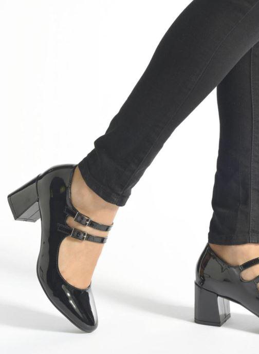 Escarpins I Love Shoes KIBABE Bleu vue bas / vue portée sac