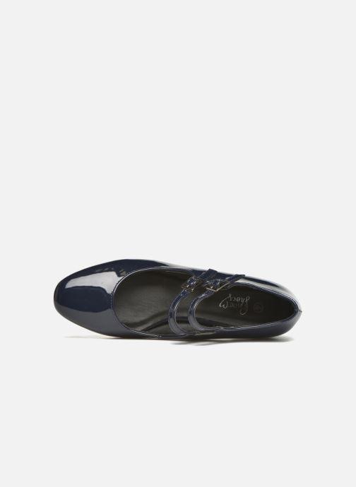 Escarpins I Love Shoes KIBABE Bleu vue gauche