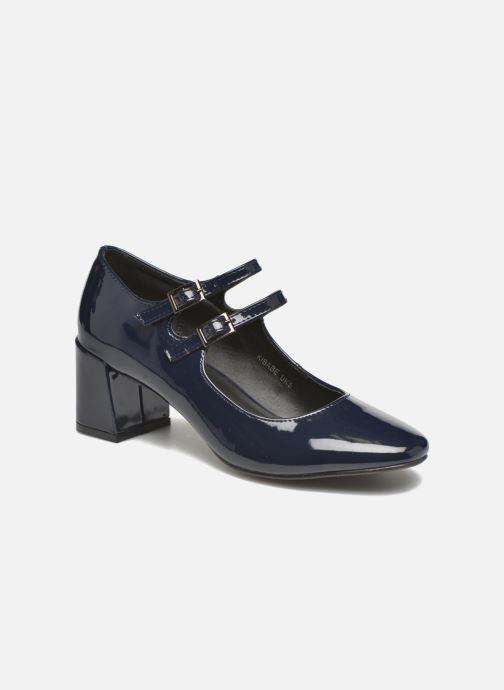 Escarpins I Love Shoes KIBABE Bleu vue détail/paire