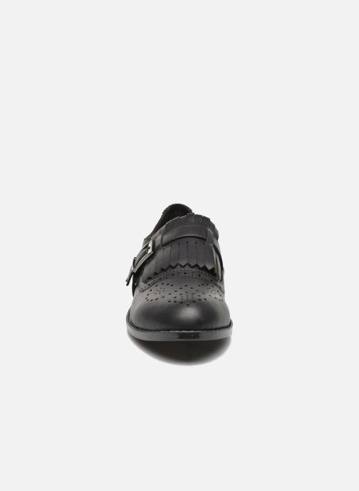 Mocassins I Love Shoes KIFASSE Noir vue portées chaussures