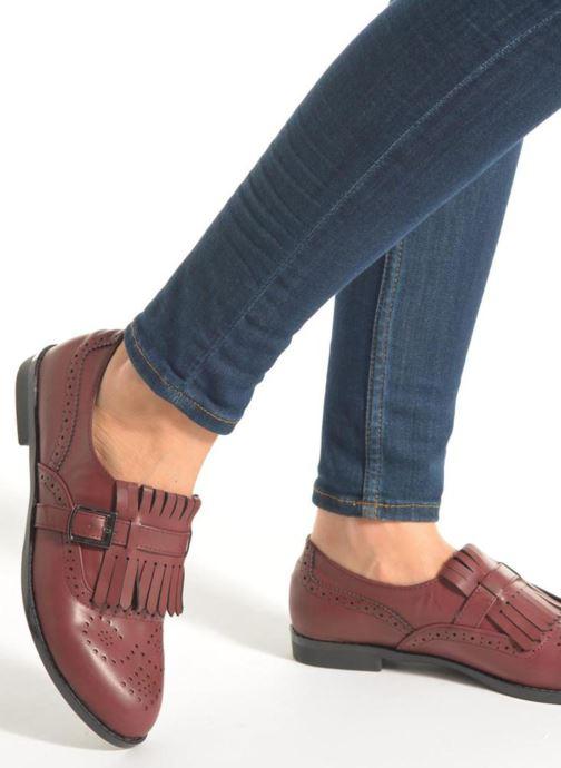 Mocasines I Love Shoes KIFASSE Vino vista de abajo