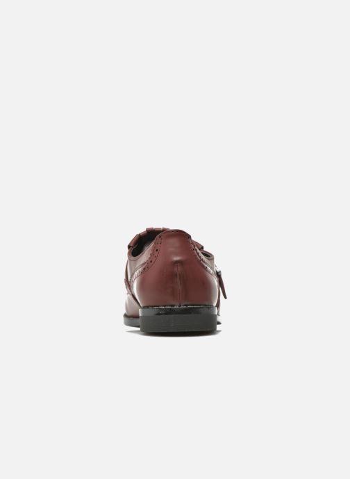 Mocasines I Love Shoes KIFASSE Vino vista lateral derecha