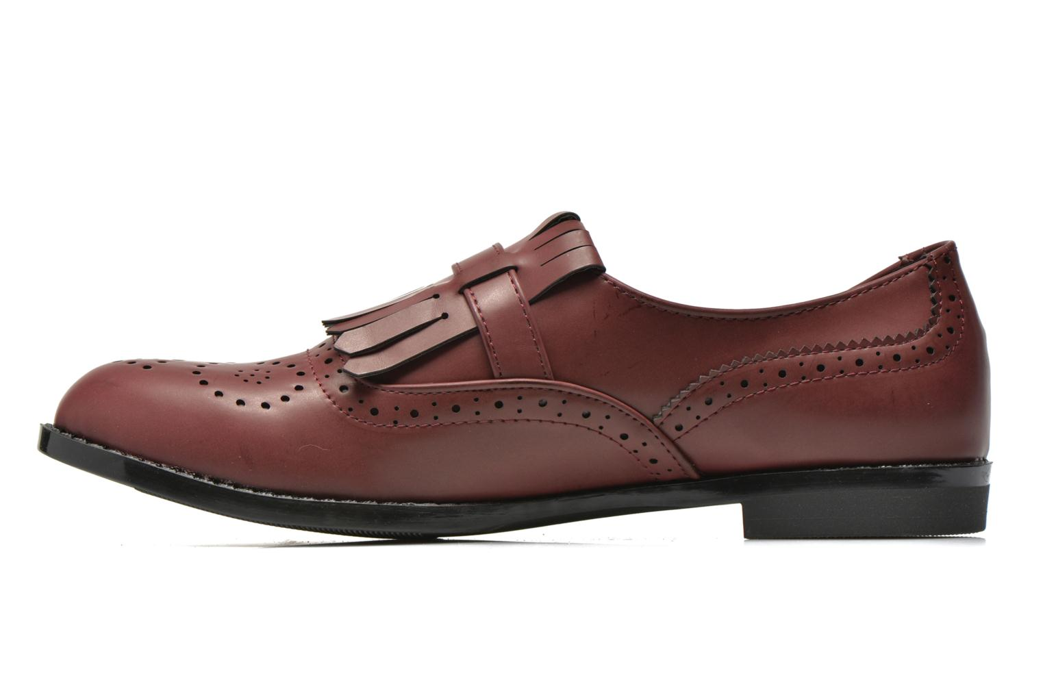 Loafers I Love Shoes KIFASSE Burgundy front view