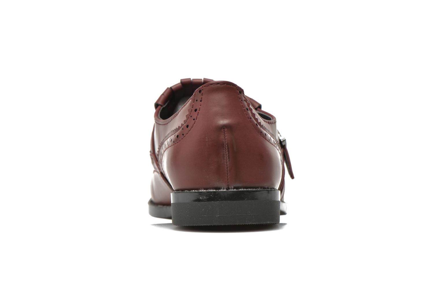 Loafers I Love Shoes KIFASSE Burgundy view from the right
