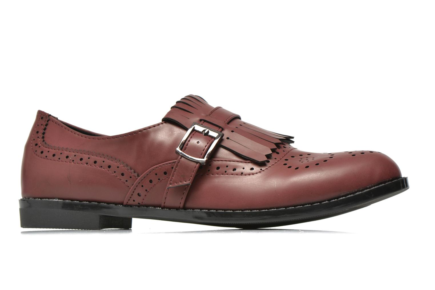 Loafers I Love Shoes KIFASSE Burgundy back view