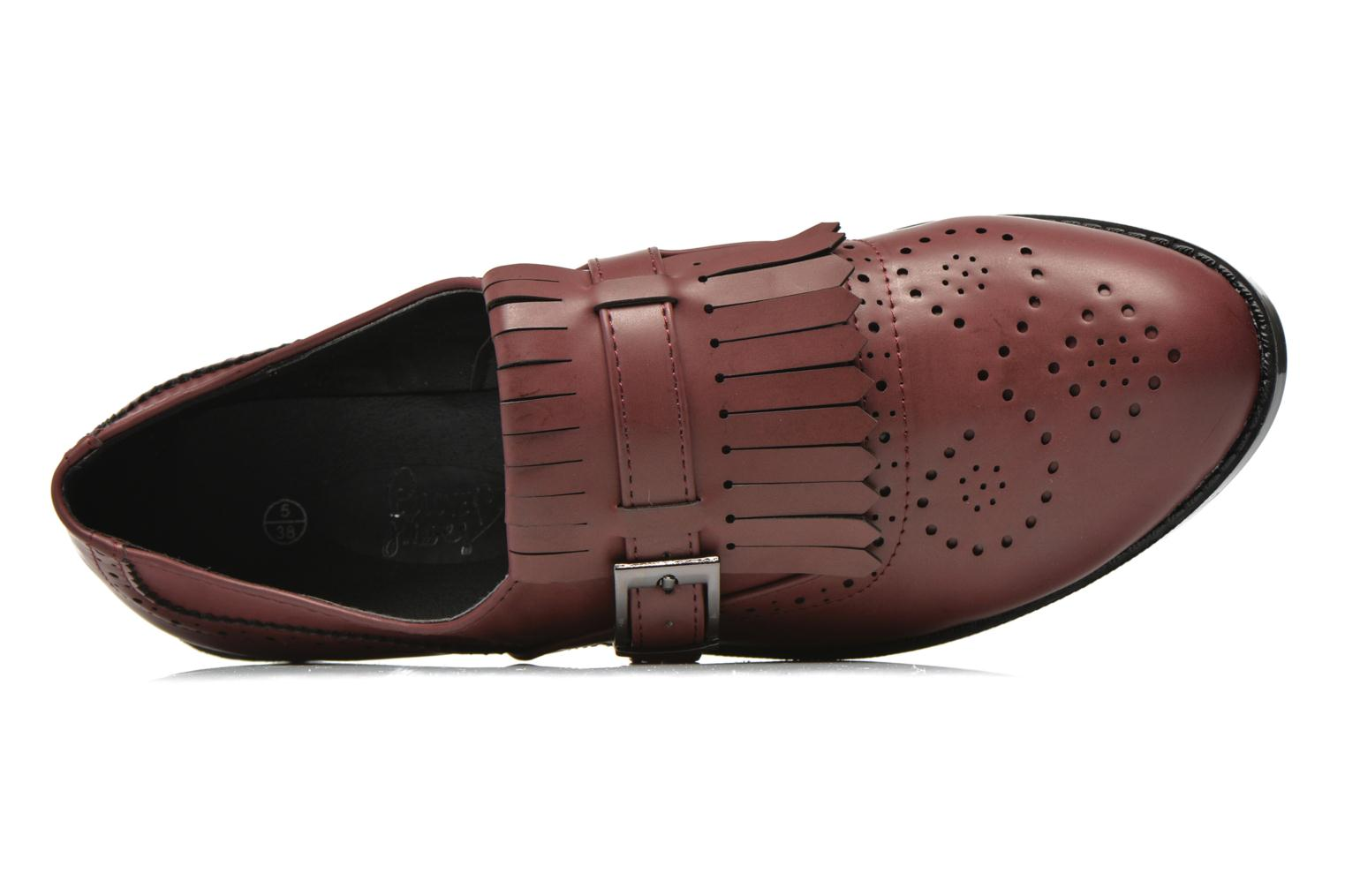 Loafers I Love Shoes KIFASSE Burgundy view from the left