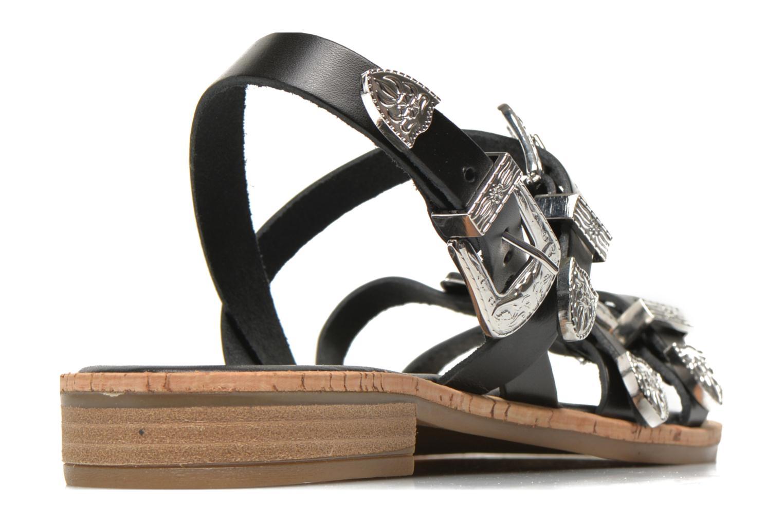 Sandales et nu-pieds Made by SARENZA Tennessee Sister #5 Noir vue portées chaussures