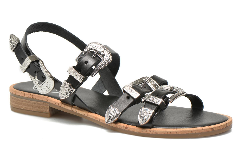 Sandales et nu-pieds Made by SARENZA Tennessee Sister #5 Noir vue face