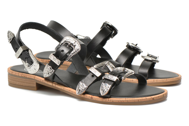 Sandales et nu-pieds Made by SARENZA Tennessee Sister #5 Noir vue droite