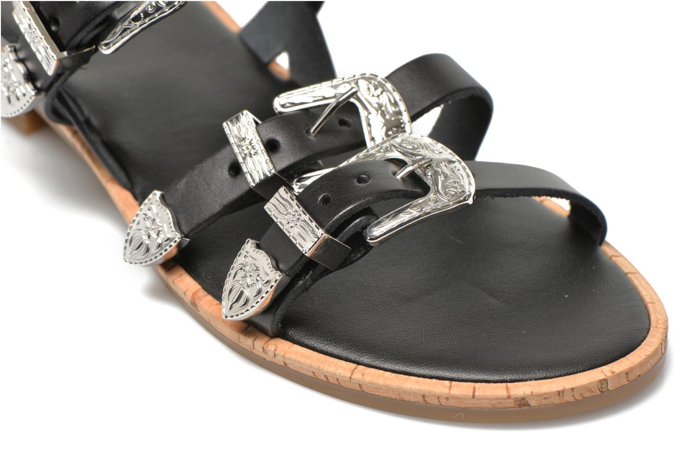 Sandales et nu-pieds Made by SARENZA Tennessee Sister #5 Noir vue derrière