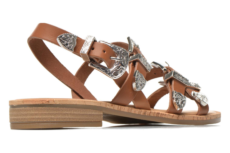 Sandales et nu-pieds Made by SARENZA Tennessee Sister #5 Marron vue portées chaussures