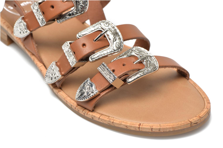 Sandales et nu-pieds Made by SARENZA Tennessee Sister #5 Marron vue derrière