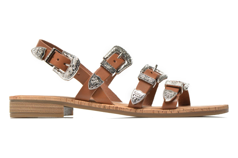 Sandales et nu-pieds Made by SARENZA Tennessee Sister #5 Marron vue détail/paire