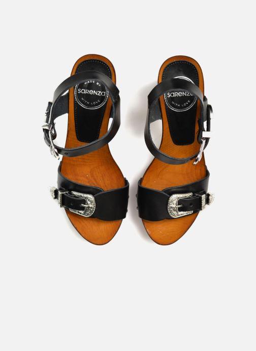 Sandalias Made by SARENZA Discow Girl #10 Negro vista de arriba