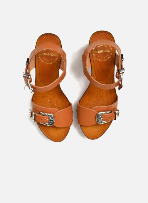 Sandalen Made by SARENZA Discow Girl #10 Bruin 3/4'