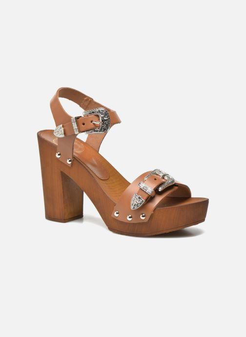 Sandalen Made by SARENZA Discow Girl #10 Bruin voorkant
