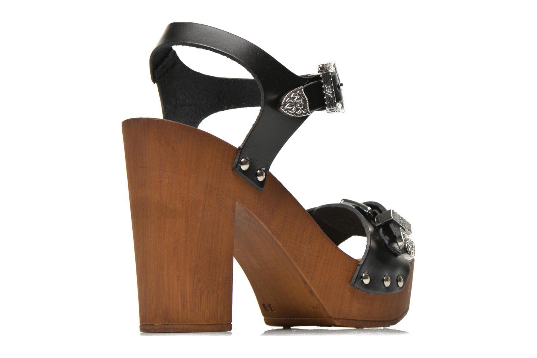 Sandalias Made by SARENZA Discow Girl #10 Negro vista del modelo