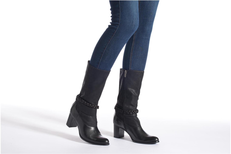 Bottines et boots Madison Arnold Noir vue bas / vue portée sac