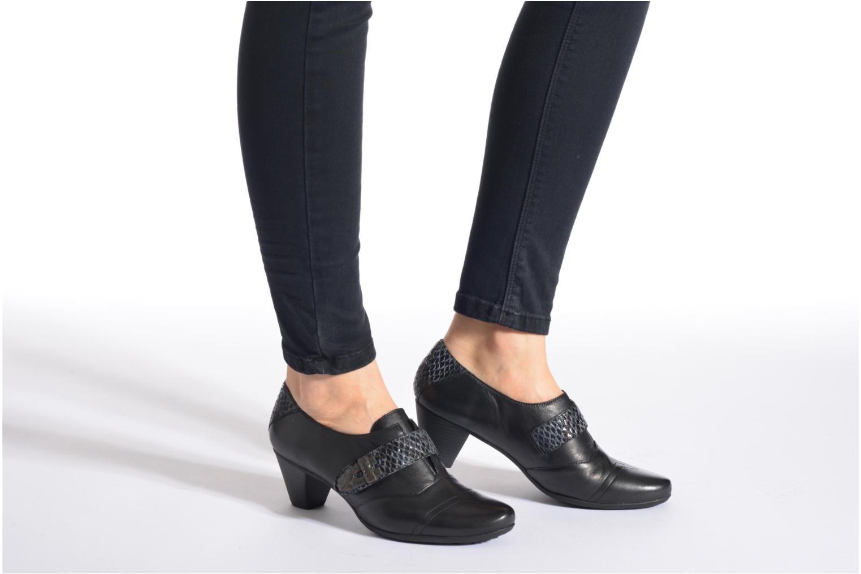 Bottines et boots Sweet Dolche Noir vue bas / vue portée sac
