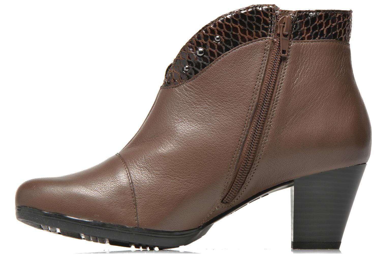 Bottines et boots Sweet Tuiter Marron vue face