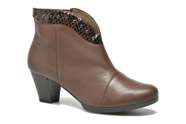 Bottines et boots Sweet Tuiter Marron vue détail/paire