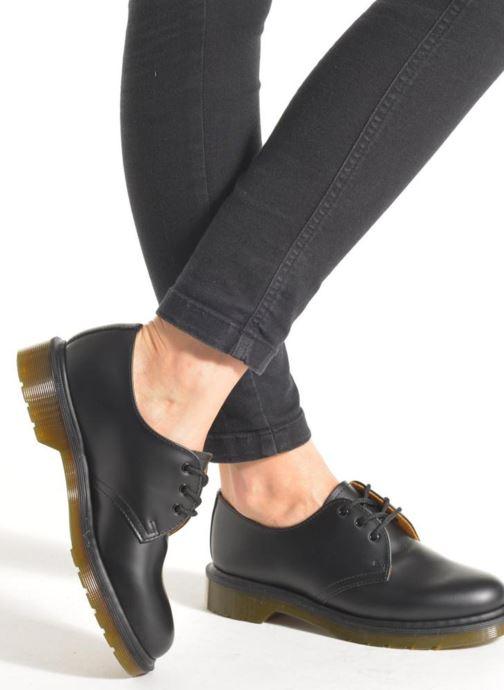 Chaussures à lacets Dr. Martens 1461 PW W Noir vue bas / vue portée sac