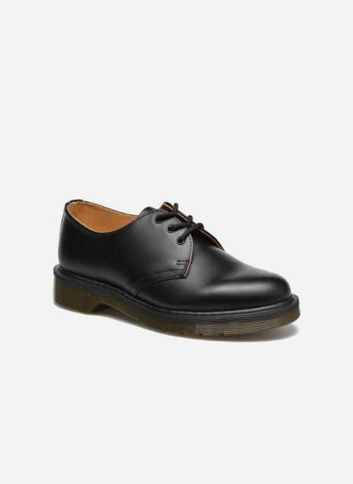 Zapatos con cordones DR. Martens 1461 PW W Negro vista de detalle / par