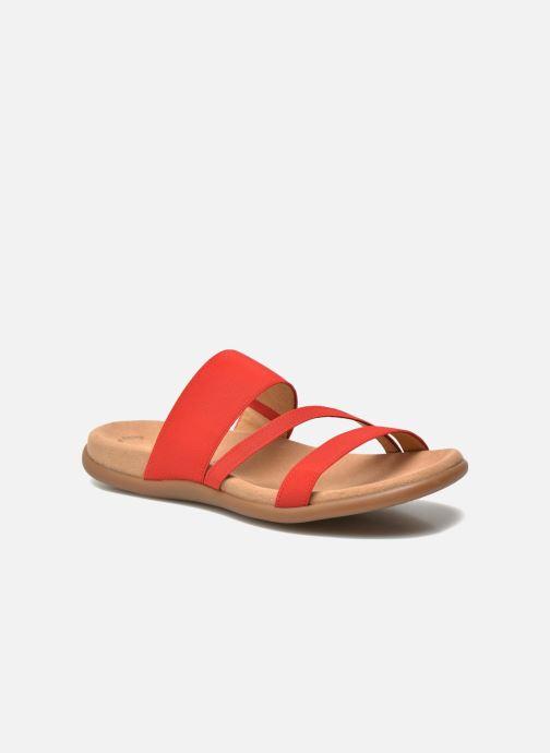 Clogs og træsko Gabor Pauline Rød detaljeret billede af skoene