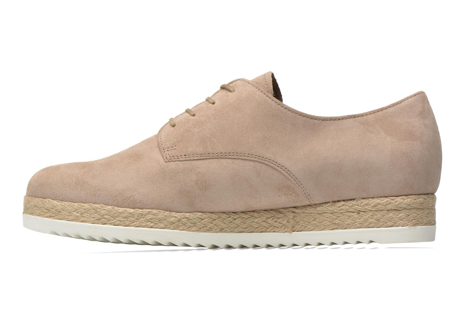 Lace-up shoes Gabor Lilo Beige front view