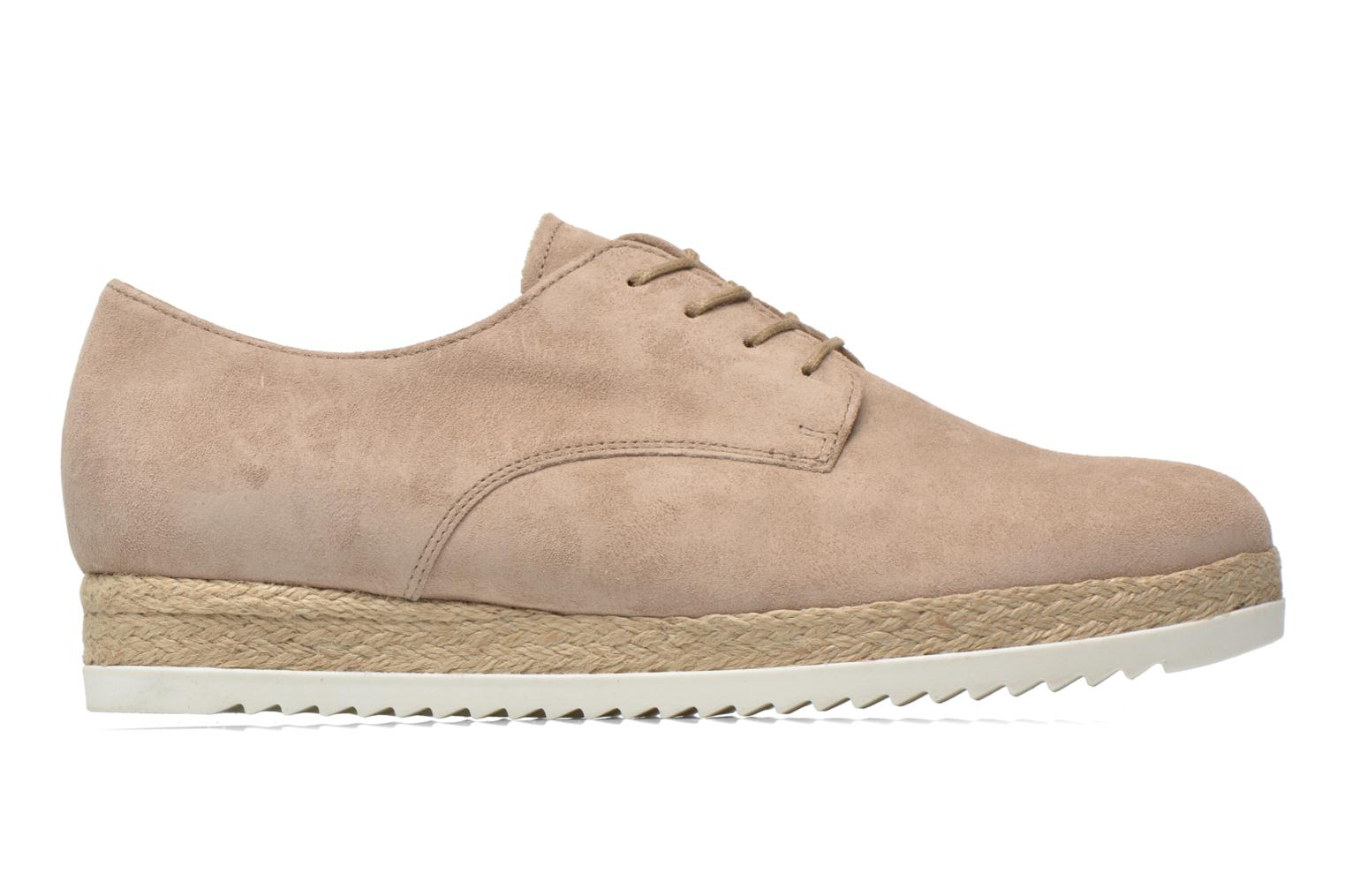 Lace-up shoes Gabor Lilo Beige back view