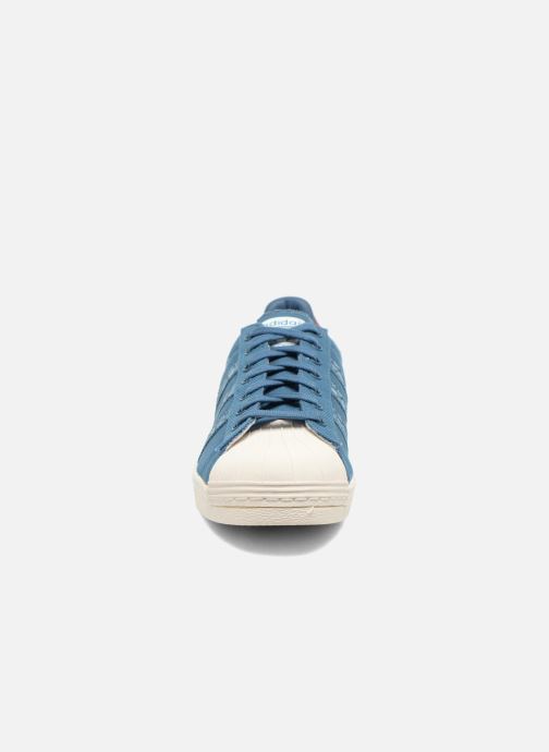 Trainers adidas originals Superstar 80S Animal Blue model view
