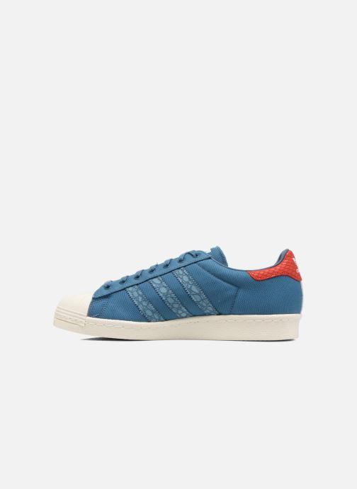 Sneakers adidas originals Superstar 80S Animal Blauw voorkant